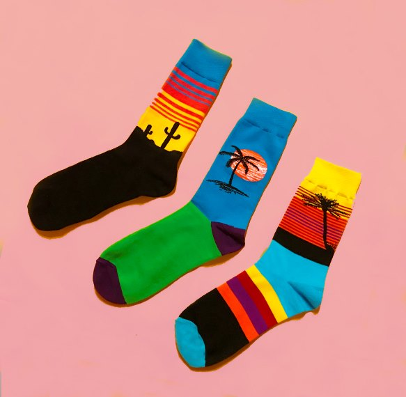 ODD SOCK MOB - TROPIC THREE